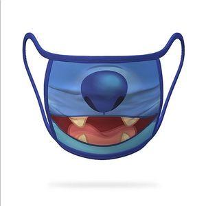 New Disney Parks Stitch Face Mask - Large